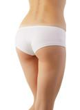 Beautiful body of woman exposing bottom poster