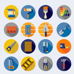 Hardware tools/icons set