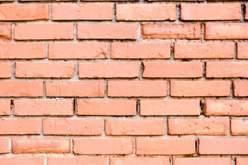 A red wall brick  background