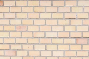 a yellow wall brick