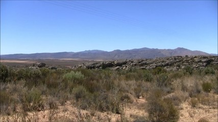 Karoo rocks and mountains