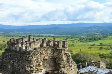 Tonina archeological site in Ocosingo, Chiapas