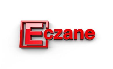 Tipografi; 3D Eczane