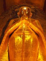 Ananda buddha statue, Bagan, Myamnar