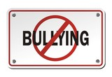 stop bullying signs poster