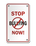 stop bullying now signs poster