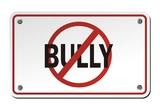 stop bully signs poster
