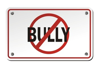 stop bully signs