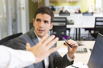 No smoking electronic cigarette in the office