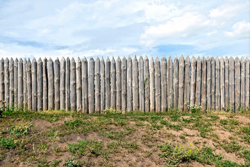 Fence log