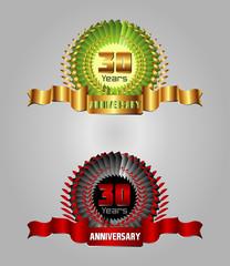 30 years Anniversary celebration set