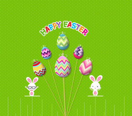easter eggs props card