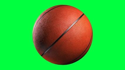 Basketball, loop seamless, alpha channel