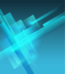 abstract  technology blue color vector background