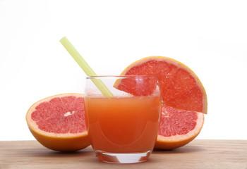 zumo de pomelo