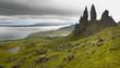 Scottish basaltic landscape in Skye isle. Old man of Storr - 77528478