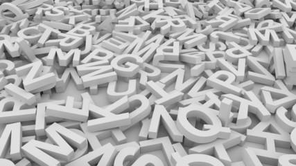 Letters.Seamless loop
