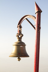 bell of hindu temple