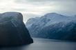 Alesund in Norwegen, Fjorde