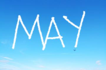 may written in the sky