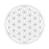 Fototapety Flower of Life Symbol