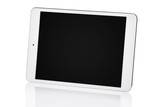 White tablet pc