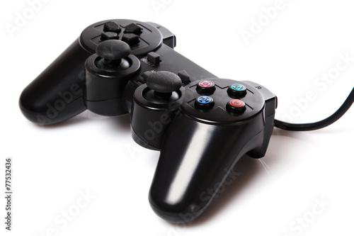 Poster Black gamepad