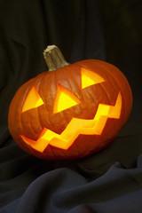 Pumpkin ready for Halloween.