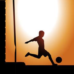 calcio in strada