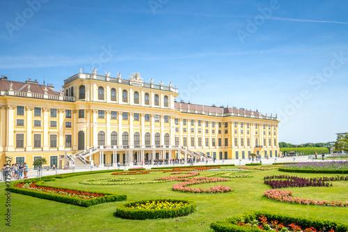Tuinposter Kasteel Schloss Schönbrunn, Wien