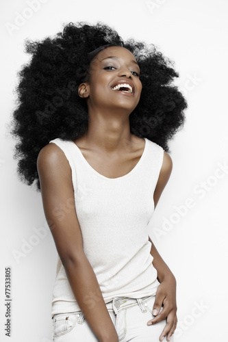 African Girl - 77533805