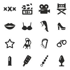 Adult Movie Icons