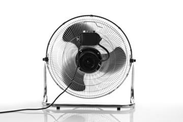 chrome fan back view