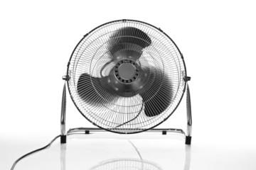 chrome fan front view