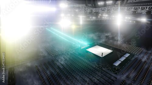 Aluminium Vechtsporten stadium