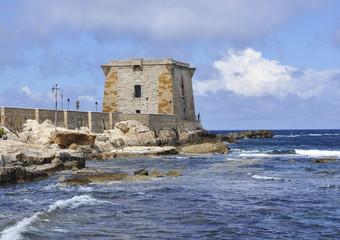 Italy.Sicilia. Trapani la torre Ligny