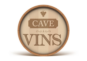 Tonneau Cave à Vins