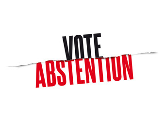 Vote vs Abstention