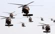 Leinwandbild Motiv Helicopters