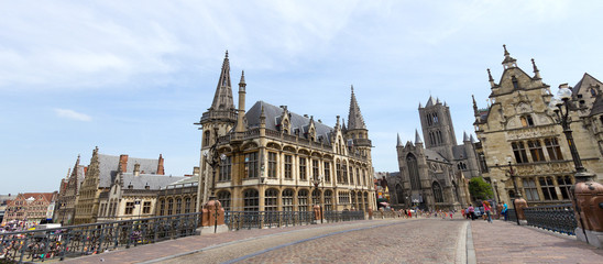 City of Gent in Belgium