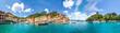 Leinwandbild Motiv Portofino Panorama