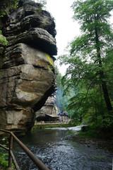 Edmund Gorge in Czech Switzerland