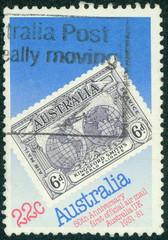 1931 Kingsford Smith's Flights Commemorative stamp