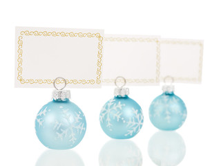 Christmas place cards holders inline view