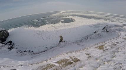 流氷空撮4