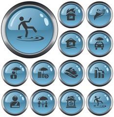 Insurance button set
