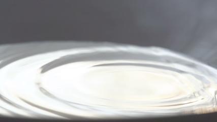 Falling Drops of Milk