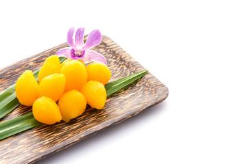 Thai dessert, Gold Egg Yolks Drops