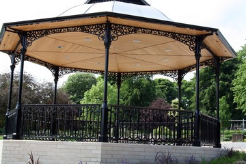 band stand in the park