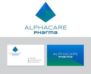 Alpha care pharma logo